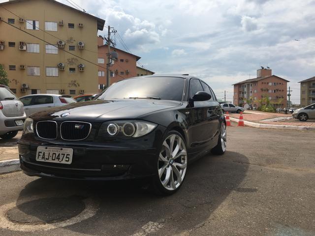 Vendo ou troco BMW 120i 2.0 automática 2008 completa A