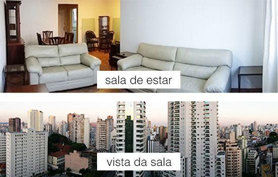 Apartamento 100m2 c/ 3 quartos mobiliado e reformado; 2 garagens