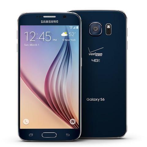 Sansung Galaxy S6 G920V 32 Gb Sapphire Blue, Novo