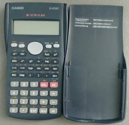 Calculadora Científica da CASSIO fx 82MS. - Em Gonzaga, Santos