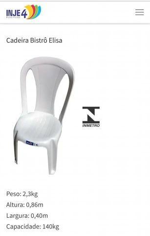Mesas e Cadeiras 182KG Promoção!! - Foto 2