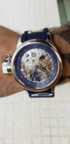 34ead40d915 Relógio Invicta Russian Diver (1089) Original Made in USA. Pouco Uso ...