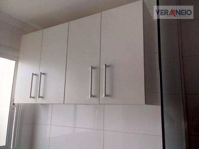 Apartamento com 2 dormitórios à venda, 73 m² por R$ 275.000 - Vila Guilhermina - Praia Gra - Foto 15