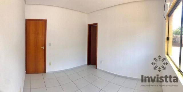 Apartamento com 3 quartos para alugar, 66 m² por r$ 950,00/mês - plano diretor norte - pal - Foto 10
