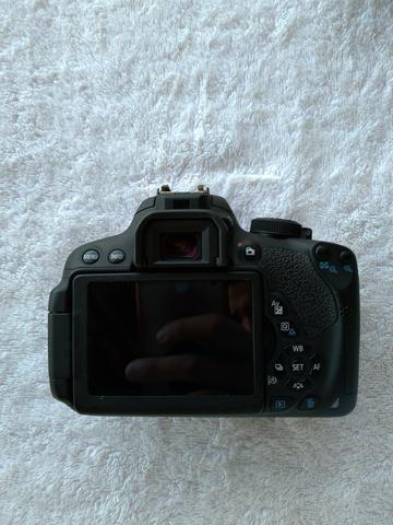 Câmera Canon T5i + Lente 18-55mm + Lente 50mm + Acessórios - Foto 2