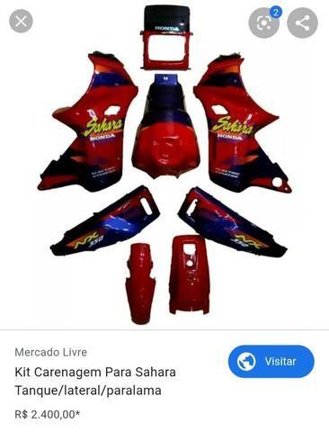 Kit carenagem Sahara 97