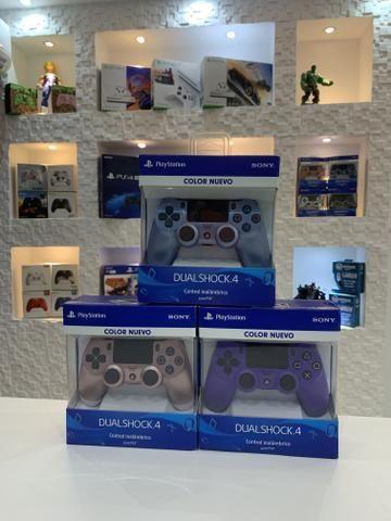 Controles originais Sony Ps4 ! Estaçao dos Games