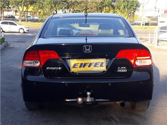 Honda Civic 1.8 lxl 16v flex 4p automático - Foto 8