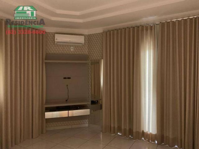 Sobrado com 4 dormitórios para alugar, 350 m² por R$ 6.000,00/mês - Residencial Sun Flower - Foto 8