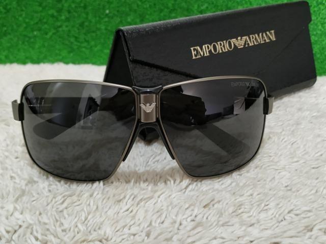 3779aa47ab8ed Óculos Empório Armani de metal preto - Bijouterias, relógios e ...