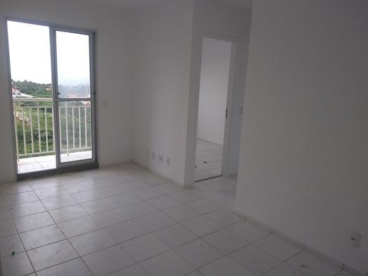 Apartamento de 47 m² no Condomínio Costa Araçagy no 12º andar 02 qtos s/ 01 suite - Foto 2