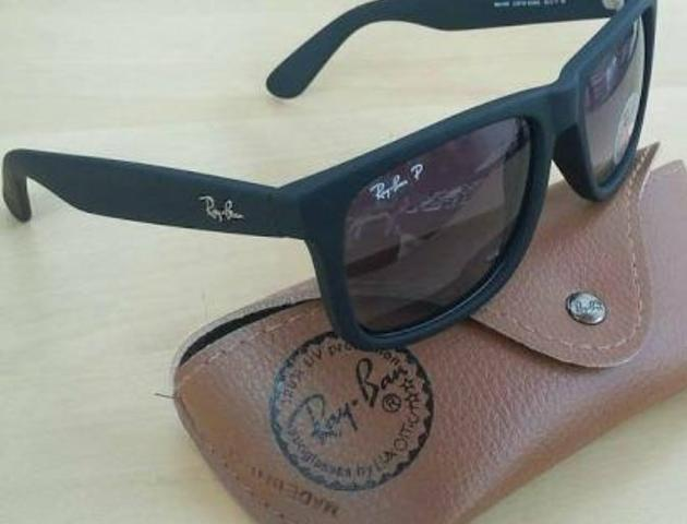 Oculos Oakley holbrook e rayban justin lentes Polarizadas ... 64f1e5512e