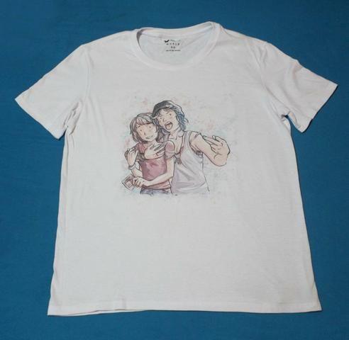 Camiseta Branca Life Is Strange - Roupas e calçados - Janga ... 94a11819c540d