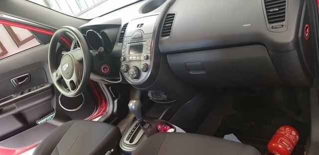 Kia Soul EX Ano 2009/2010 motor 1.6 flex Automático, completo e Única dona - Foto 12