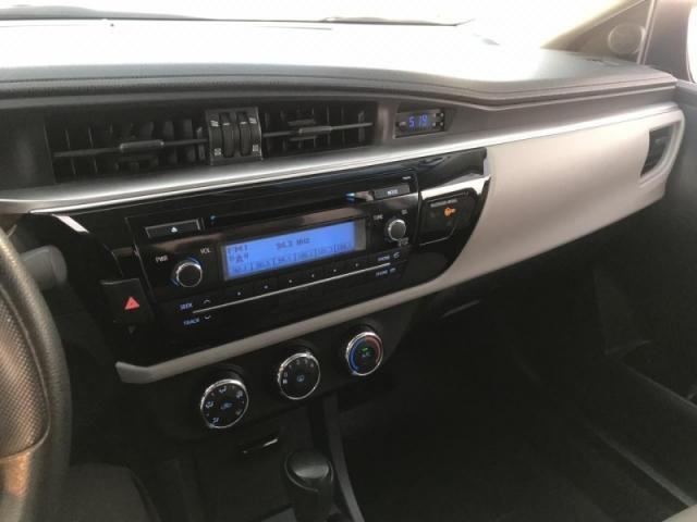 TOYOTA COROLLA 1.8 GLI 16V FLEX 4P AUTOMATICO. - Foto 10