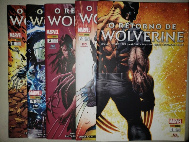 O Retorno de Wolverine (Completo)