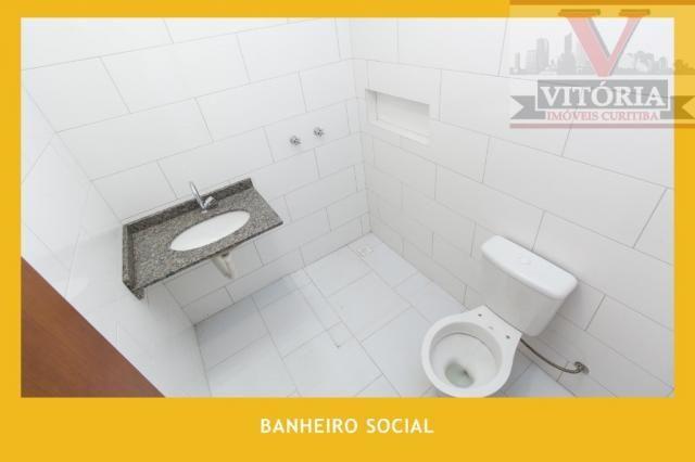 SOBRADO À VENDA, 139 M² POR R$ 400.000,00 - FAZENDINHA - CURITIBA/PR - Foto 13