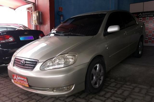 Corolla 1.8 Xei 16 v Gasolina 2005/2005 Bege. Oferta Imperdível! - Foto 10