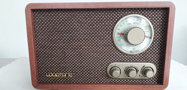 Retro bluetooth radio-novo lacrado