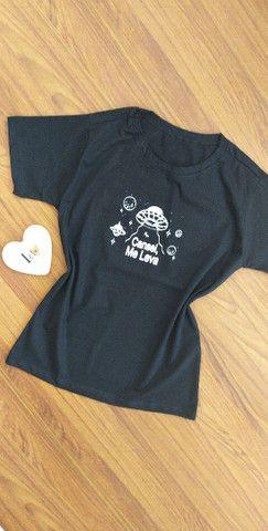 T-shirt Feminina - Foto 3