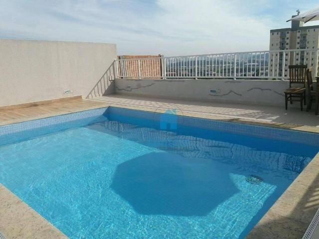 Apartamento com 2 dormitórios à venda, 53 m² por R$ 300.389,54 - Quitaúna - Osasco/SP - Foto 17