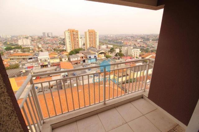 Apartamento com 2 dormitórios à venda, 53 m² por R$ 300.389,54 - Quitaúna - Osasco/SP - Foto 2