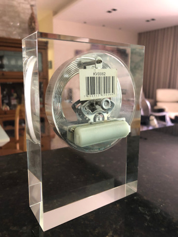 Relógio em Cristal para Decoração  - Foto 4