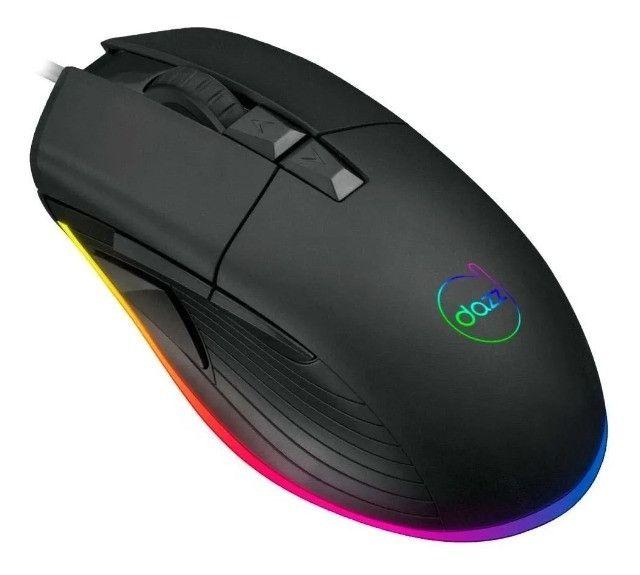 Mouse Gamer Dazz Kirata Ascendent RGB 12400 DPI- Loja Natan Abreu
