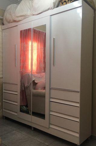 Guarda roupa, cômoda e porta fraldas - Foto 2