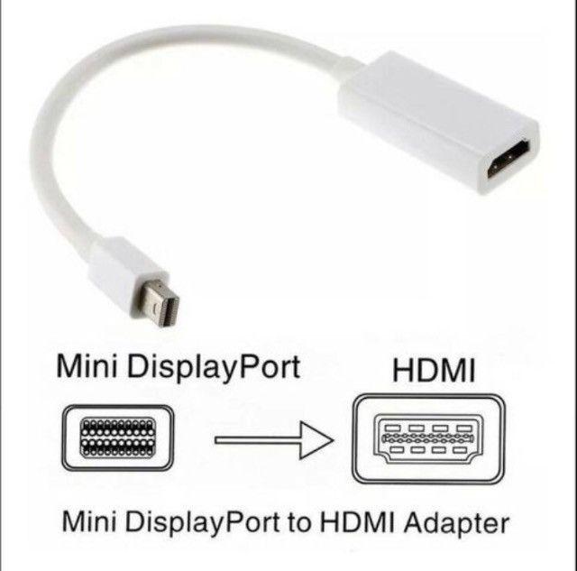 Cabo adaptador Macbook Mini DisplayPort para HDMI macbook hdmi cabo