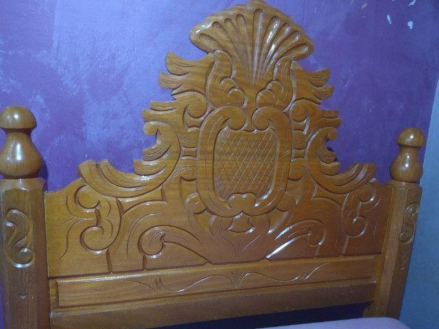 Cama de casal madeira - Foto 3