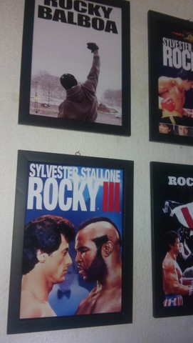 Quadros Rocky Balboa - Foto 5