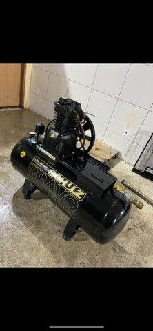 Compressor de ar 200l schulz