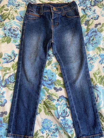 Lote calças menino, veste 2 á 4 anos - Foto 5