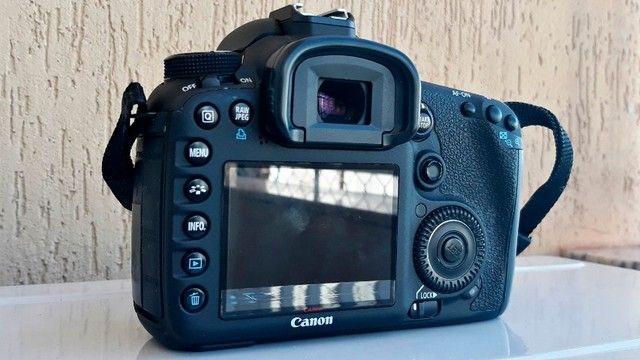Canon Eos 7d Dslr Cor Preto - Foto 2