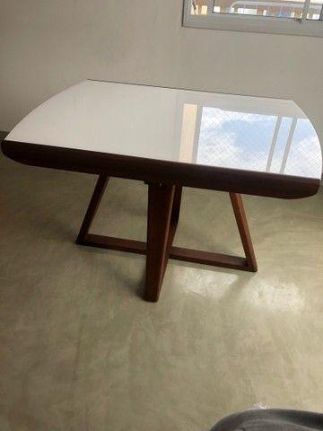 Linda mesa de jantar moderna expansível - Nova!!