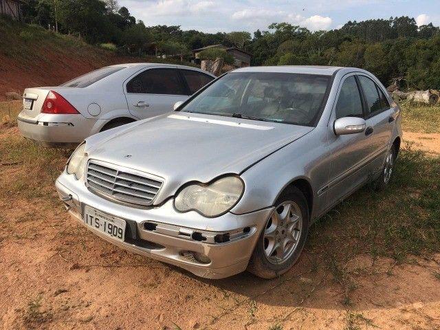 Mercedes bens c180 01/02 peças - Foto 2