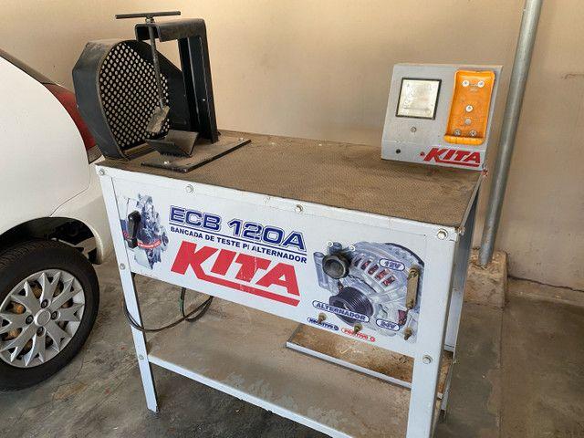 Bancada de teste para alternador Kita  - Foto 3