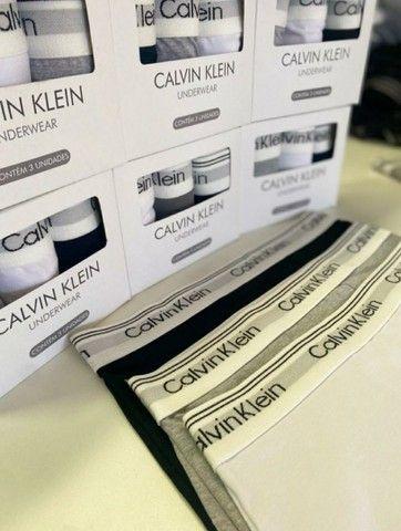 Cueca Sunga Mini Box Calvin Klein - Foto 3