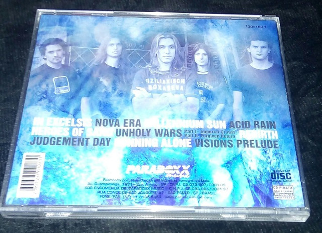 Angra Rebirth ( e Hunters And Pray) - Foto 3