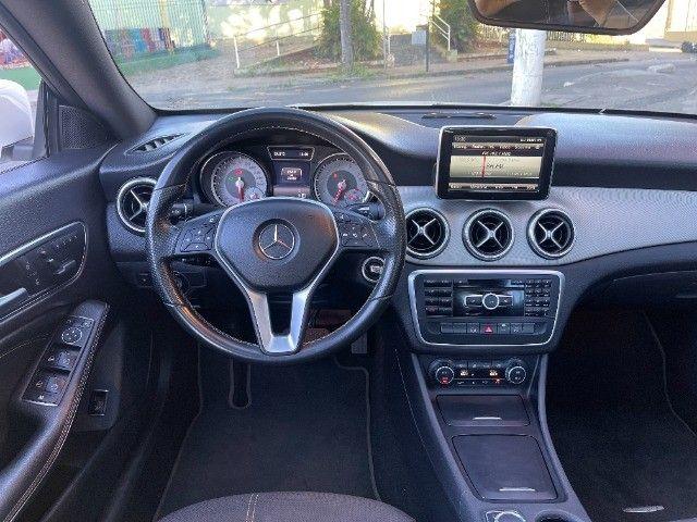 Mercedes CLA 200 Vision 1.6 Turbo 2015!! Carro luxuoso e econômico com 4 pneus novos. - Foto 7