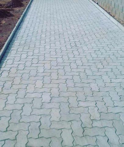 Pavimentação de Bloquete Instalado. - Foto 4