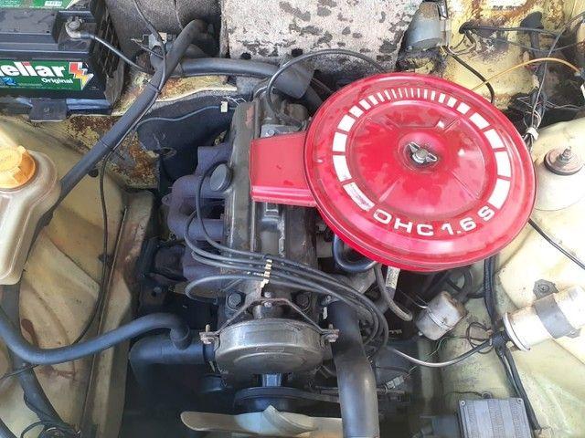 Chevette Dl 1991 1.6 carburado - carro de coleção - Foto 5
