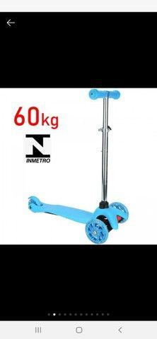 Patinete scooter infantil 3 rodas