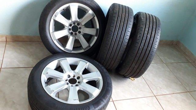 Rodas aro 17 com pneu  do Peugeot 308 - Foto 3