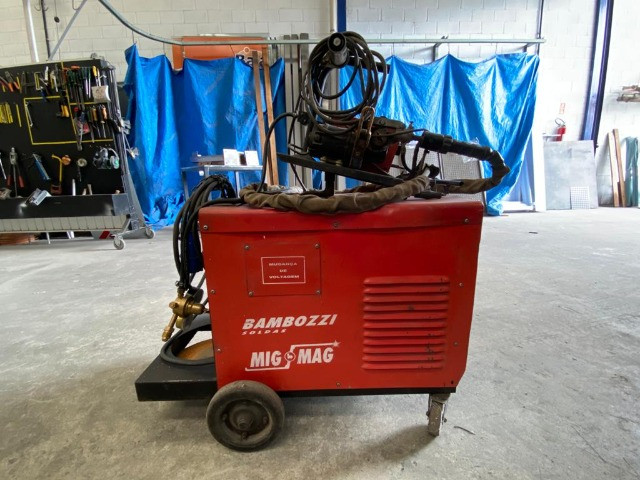 Maquina Mig/Mag Bambozzi 300A - Foto 3