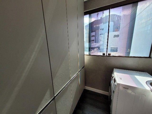 BFN - Luxuoso flat finamente decorado em Boa Viagem com 51m² e piscina na cobertura!  - Foto 19