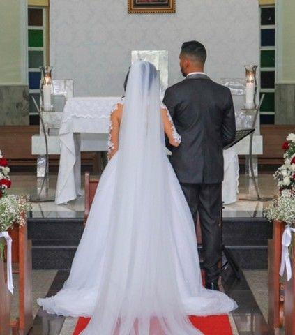 Vendo ou alugo vestido de noiva  - Foto 2