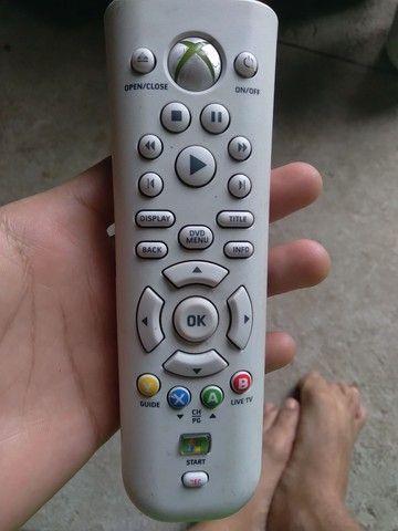 Controle remoto Xbox 360 original. Raro