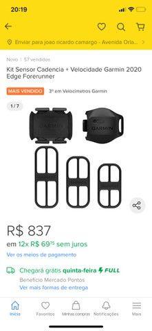 Sensores Garmin de velocidade e cadência geração 2 oportunidade! - Foto 2